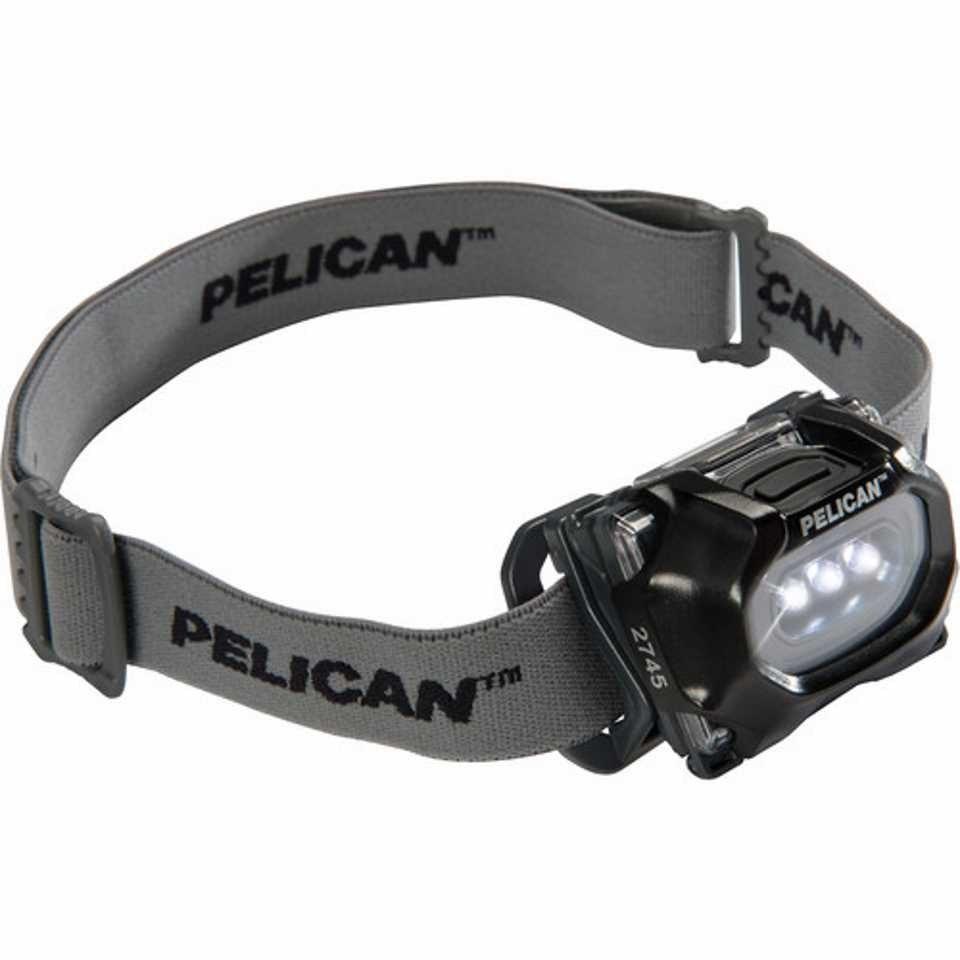 Pelican 2745 LED Headlamp (Black)