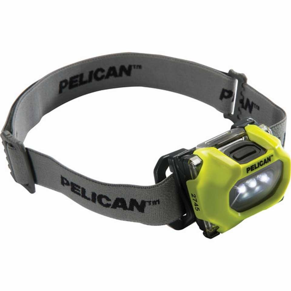 Pelican 2745 LED Headlamp (Yellow)