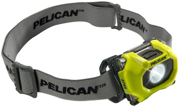 Pelican 2755Y Yellow LED Headlamp