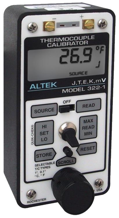 Altek 322-1 Thermocouple Calibrator