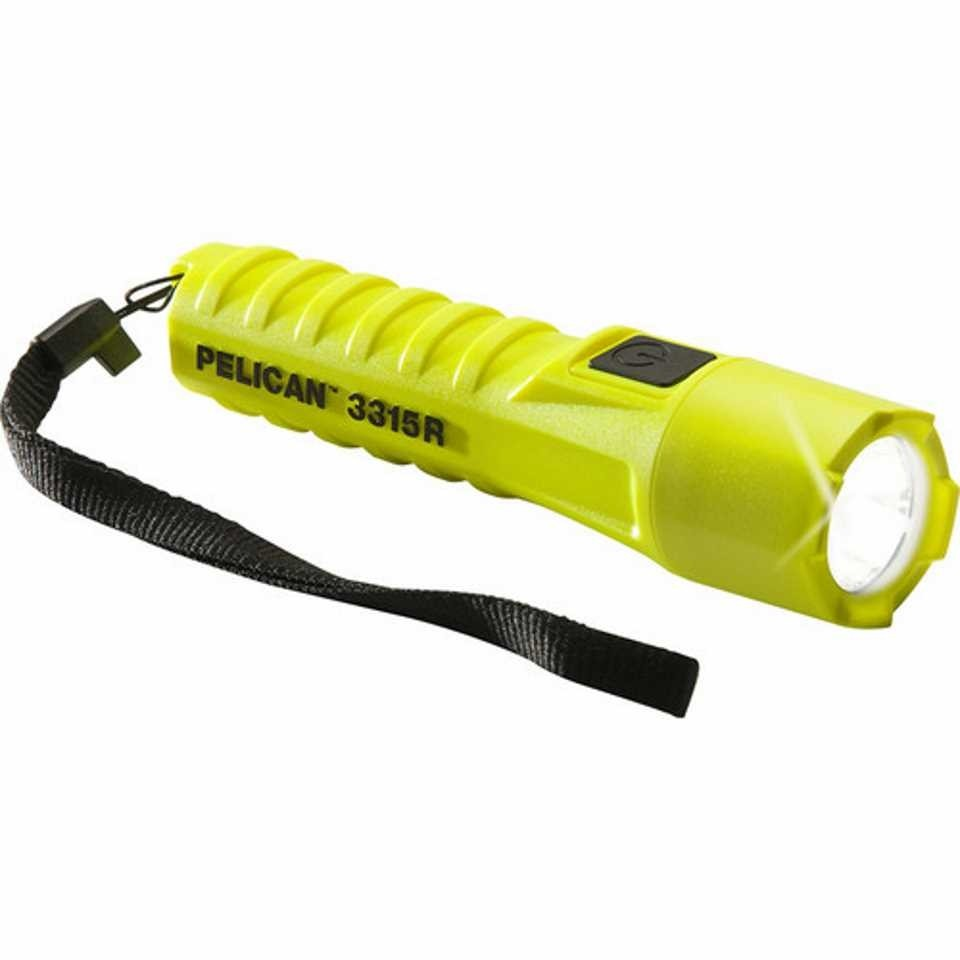 Pelican 3315i Yellow LED Torch
