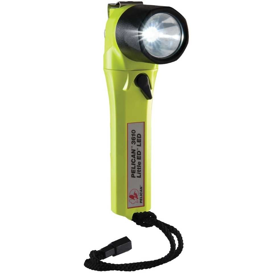 Pelican 3610 LED Torch (Yellow)