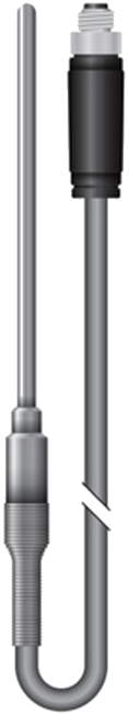 Crystal nVision Pt100 / 385 RTD Temperature Probe