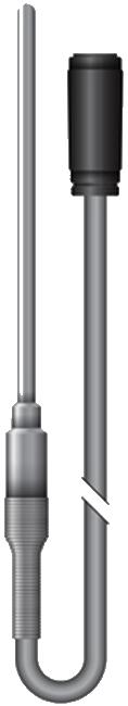 Crystal / Jofra HPC Series Pt100 / 385 RTD Temperature Probe