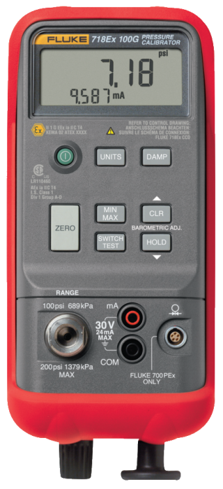 Fluke 718Ex-300G 300PSI Pressure Calibrator