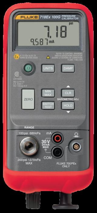 Fluke 718Ex-100G 100PSI Pressure Calibrator