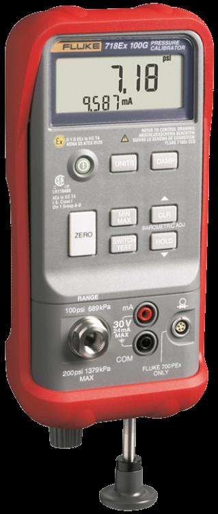 Fluke 718Ex Pressure Calibrator