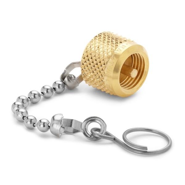 Ralston QTFT-CAPB Cap & Chain Fitting (Brass)