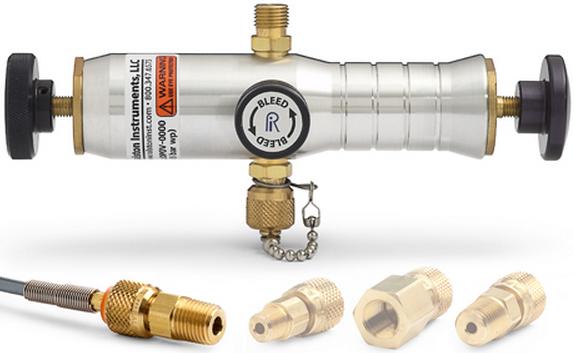 """Ralston DV0V Pneumatic Vacuum Hand Pump (-25"""" Hg)"""
