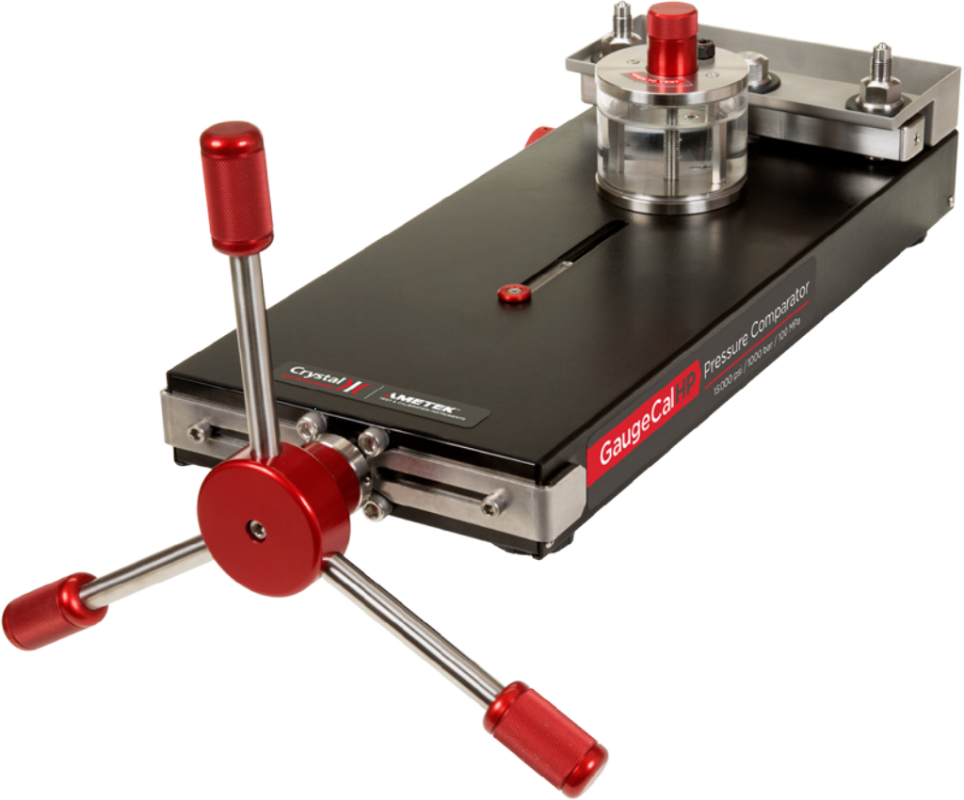 Crystal GaugeCalHP Hydraulic Vacuum / Pressure Gauge Comparator (1000 Bar)