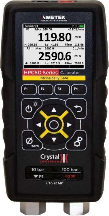 Crystal HPC50 Ex Pressure Calibrator