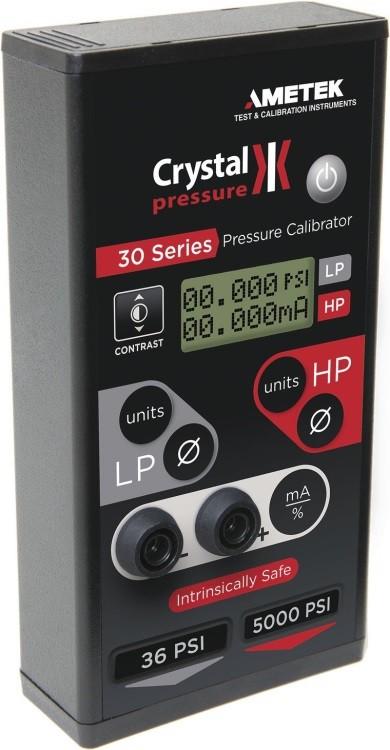 Crystal IS33 Dual-Range Pressure Calibrator