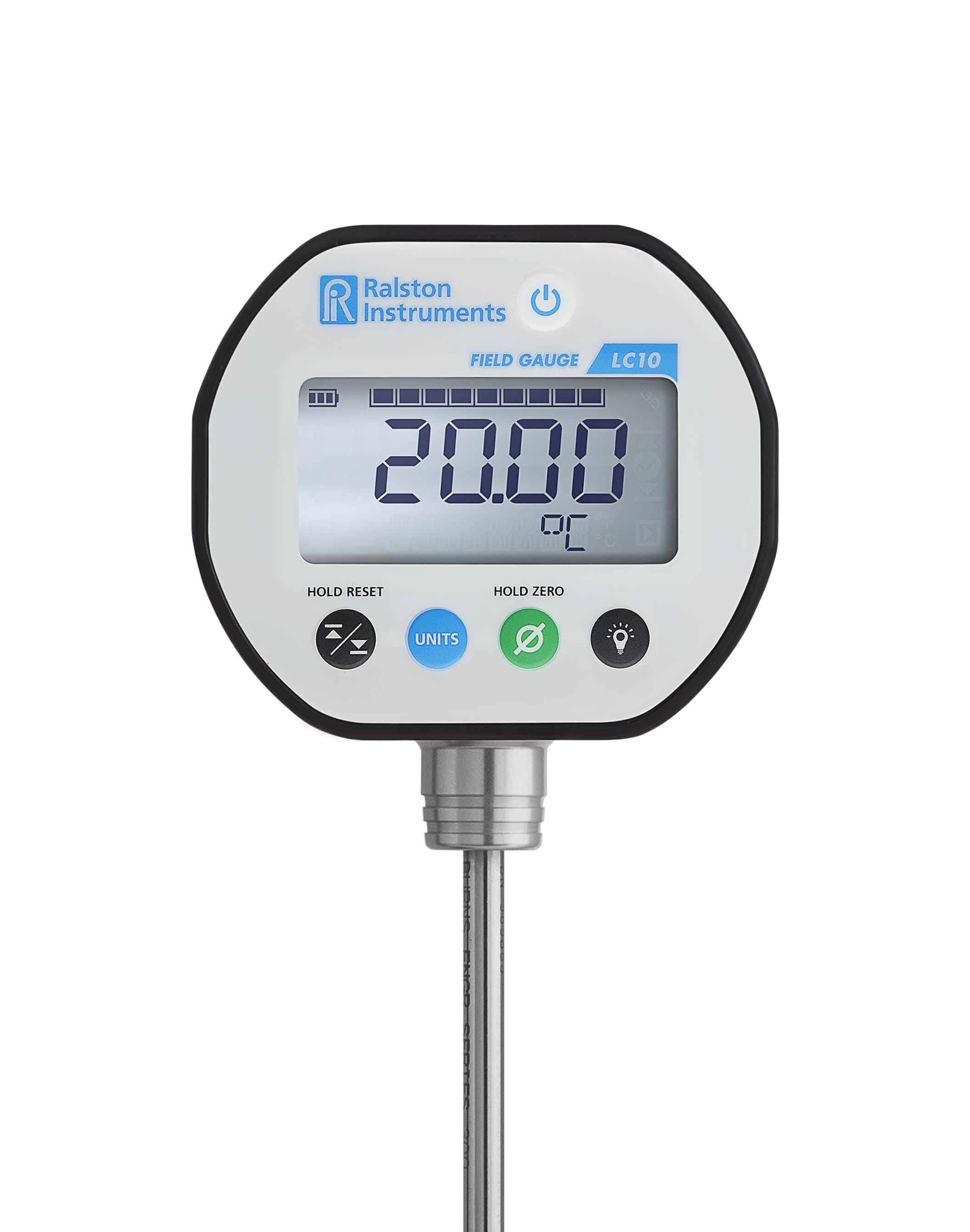 Ralston LC10-TA12 Digital Temperature Gauge & Probe -20 to +50 C