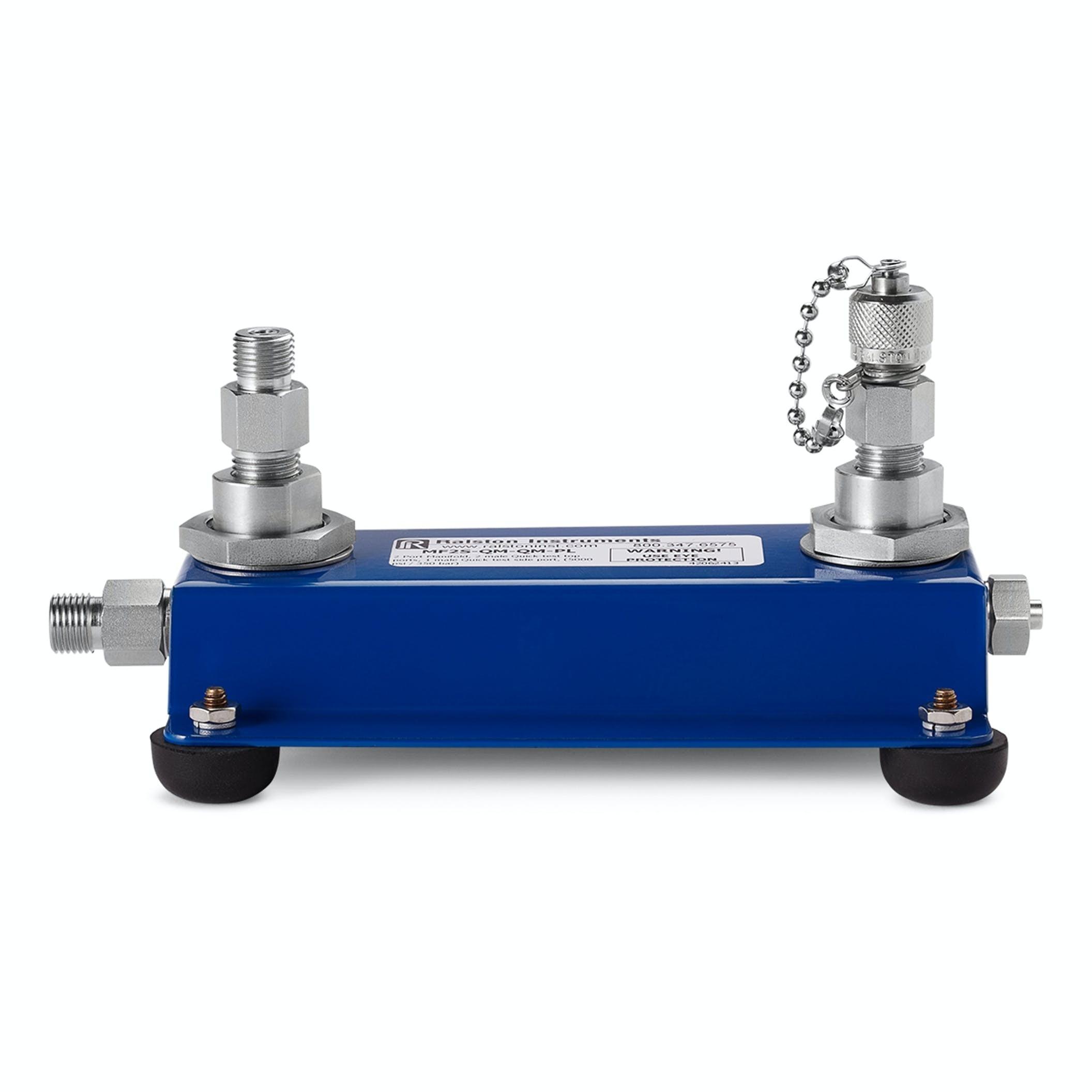 Ralston Dual Port Benchtop Manifold (350 bar)