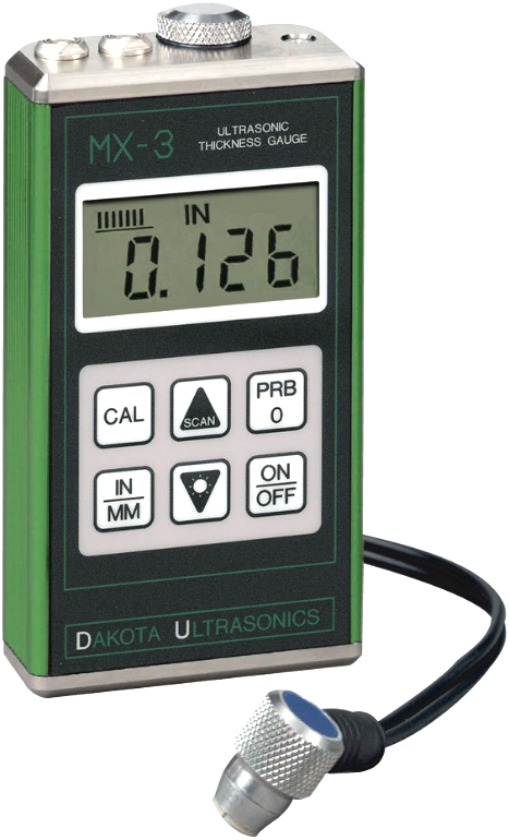 Dakota MX-3 Ultrasonic Thickness Gauge