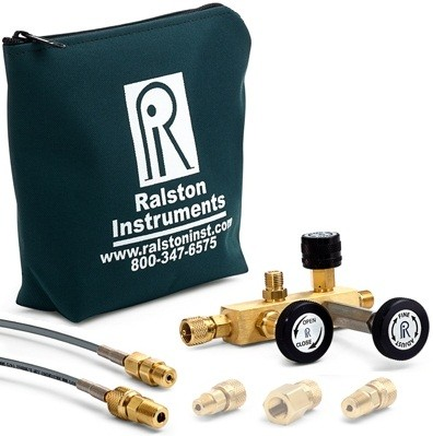 Ralston QTCM Pressure Calibration Manifold (210 Bar, Brass)