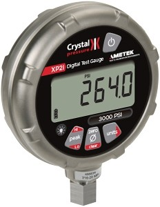 Crystal 3KPSIBXP2I 3000 PSIA Absolute Ex Digital Test Gauge