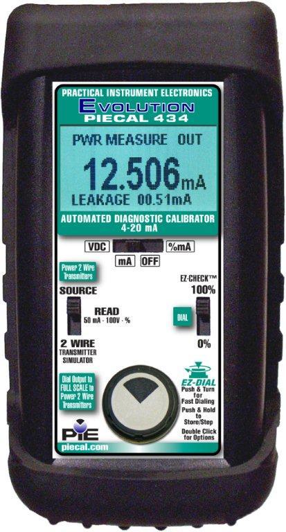 PIECAL 434 mA Loop Diagnostic Calibrator