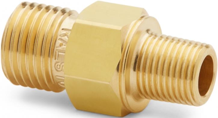 """Ralston QTHA-1MB0-RT Quick-Test Male x 1/8"""" BSPT Male (Brass)"""