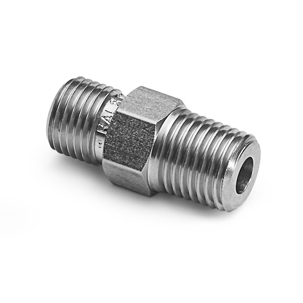 """Ralston QTHA-3MS0 Quick-Test Male x 3/8"""" NPT Male (Stainless Steel)"""