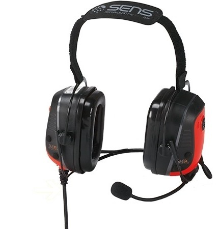 Sensear SM1PEEX02 Intrinsically Safe Neckband Headset