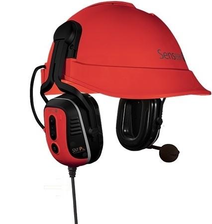Sensear SM1PHEX02 Intrinsically Safe Helmet Headset