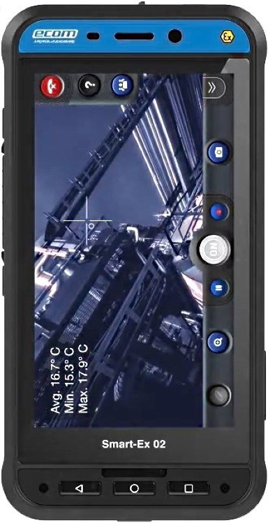 Smart-Ex 02 Intrinsically Safe Digital Camera