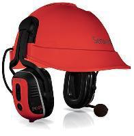 Sensear SM1PHEXDP02 Dual Protection Helmet Headset