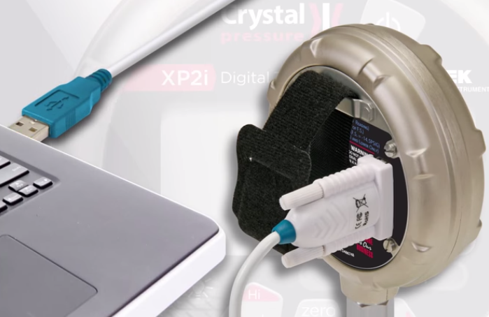 Crystal XP2i Gauge USB to RS232 Connection Cable