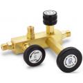 Ralston QTCM Brass Pressure Calibration Manifold