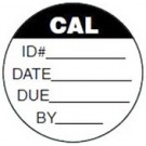 5355C Circular Calibration Labels