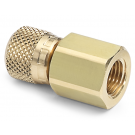 "Ralston QTHA-2FBA Quick-Test Female x 1/4"" NPT Female (Brass)"
