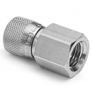 "Ralston QTHA-2FSA Quick-Test Female x 1/4"" NPT Female (Stainless Steel)"