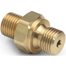 "Ralston QTHA-2MB0-RS Quick-Test Male x 1/4"" BSPP Male (Brass)"