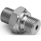 "Ralston QTHA-2MS0-RS Quick-Test Male x 1/4"" BSPP Male (Stainless Steel)"