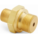 "Ralston QTHA-3MB0-RS Quick-Test Male x 3/8"" BSPP Male (Brass)"