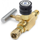 Ralston QTHA-BLB0-HC Quick-Test Male x Quick-Test Female Block & Bleed Valve (210 Bar, Brass)