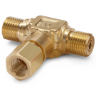 "Ralston QTHA-HFCB-2F Quick-Test Male x Quick-Test Female x 1/4"" NPT Female (Brass)"