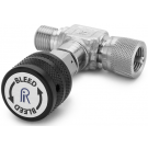 Ralston QTHA-TVLS-HC Quick-Test Male x Quick-Test Female In-Line Vent Valve (345 Bar, Stainless Steel)